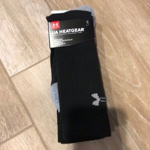 Under Armour 2 Pack Heat Gear Crew Socks